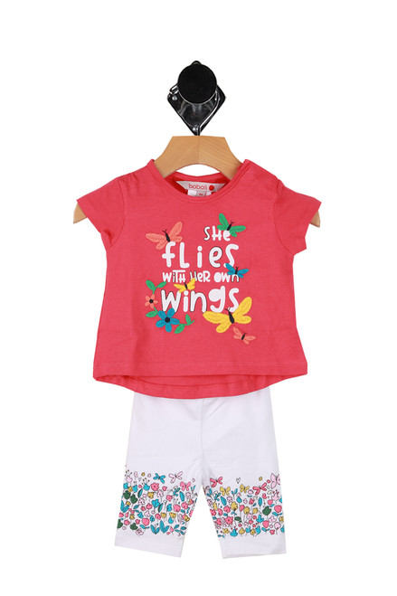 Butterfly Leggings W/ Shirt Set (Infant)