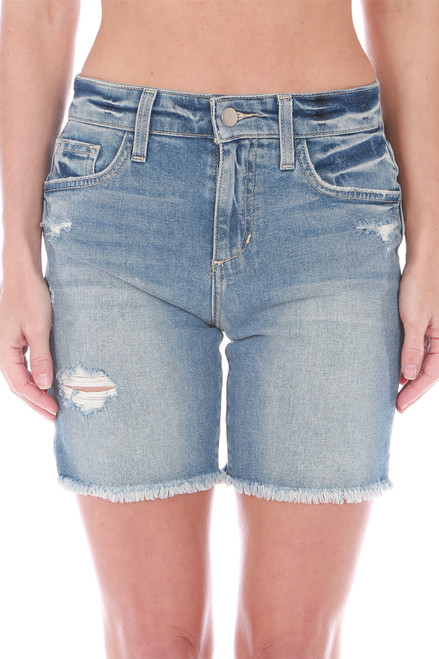 "The 7"" Denim Bermuda Short"