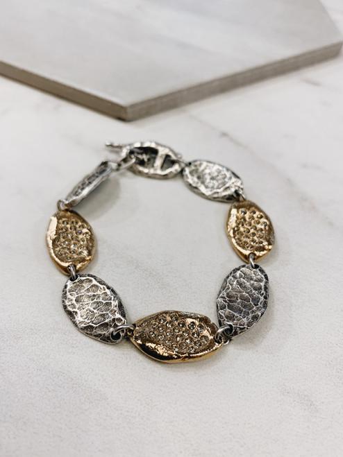 Two-Tone Impression Bracelet