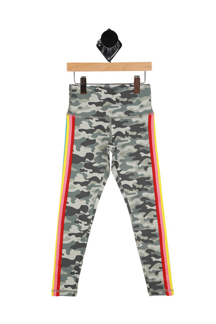 Active Camo Leggings (Big Kid)