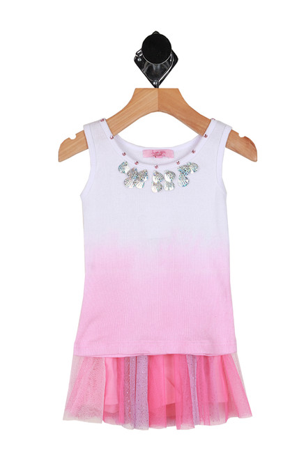 Twinkle Skort W/ Dip Dye Tank Set (Toddler/Little Kid)