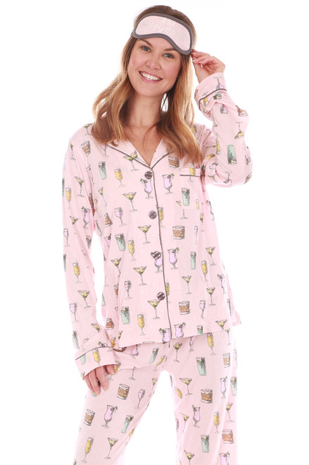 Pajama Set W/ Eye Mask (+ colors)