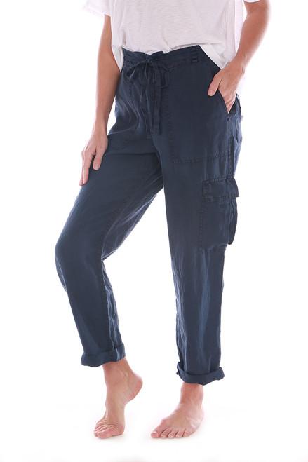 Virginia Linen Cargo Pants (+ colors)
