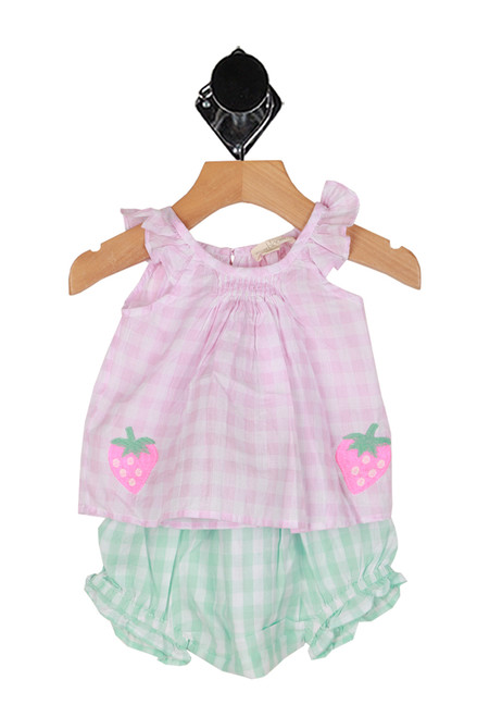 Gingham Bloomers Set (Infant)