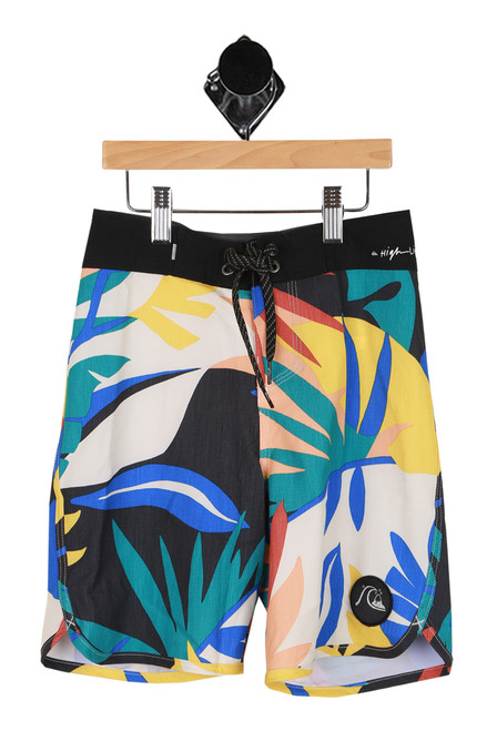 Highline Tropical Board Shorts (Toddler/Little Kid)