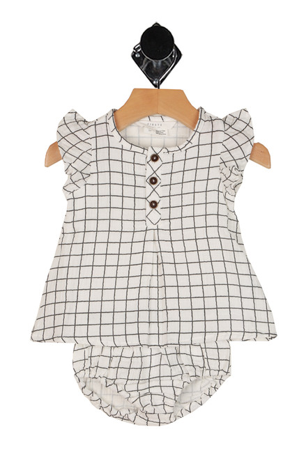 Geometric Dress & Bloomer Set (Infant)