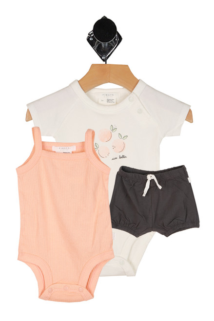 Bella Peaches 3 Piece Set (Infant)