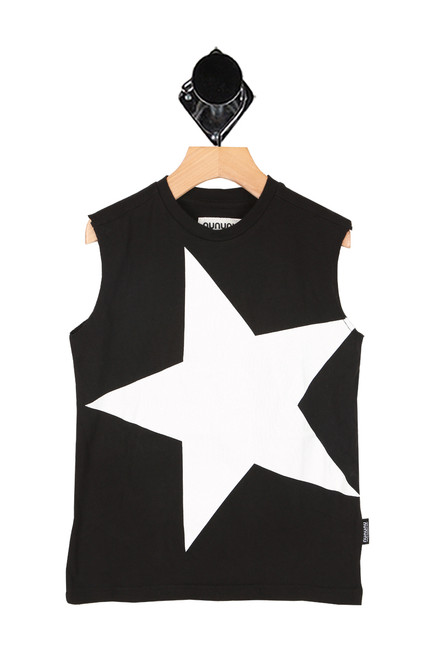 Mega Star Sleeveless Shirt (Little/Big Kid)