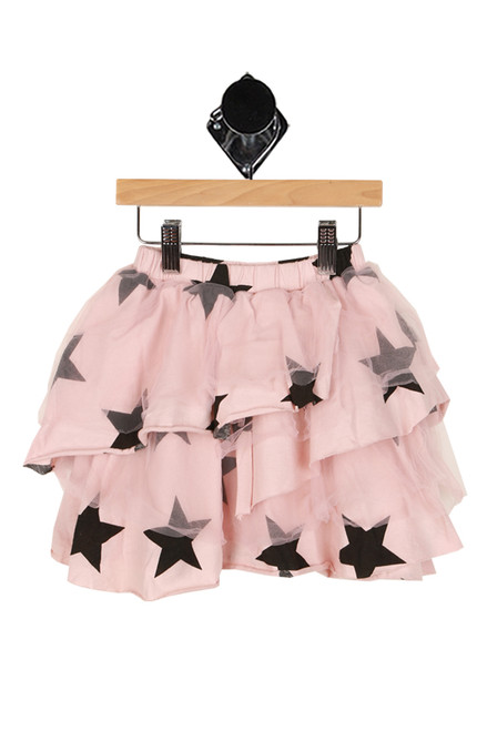 Layered Tulle Star Skirt (Toddler)