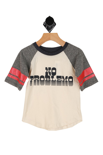 No Problemo Raglan Tee (Toddler/Little Kid)