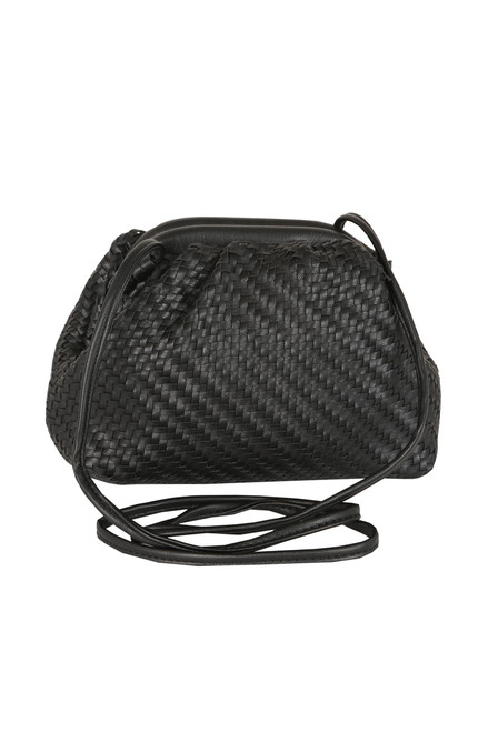 Woven Crossbody Mini Bag