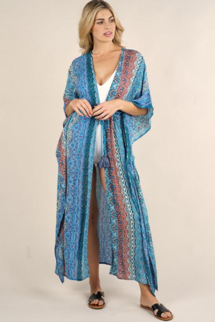 Marrakesh Print Kimono