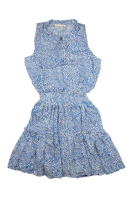 Sleeveless Smocked Mini Dress