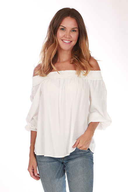 Off The Shoulder Blouse (+ colors)