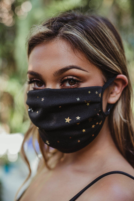 Adjustable Strap Fashion Masks (+ colors)