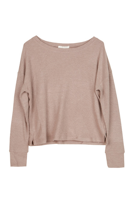 Leila Ribbed L/S Top