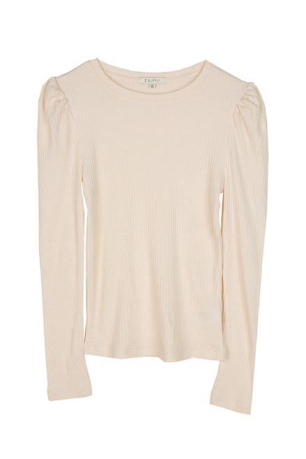 Kaiya Ribbed L/S Top (+ colors)