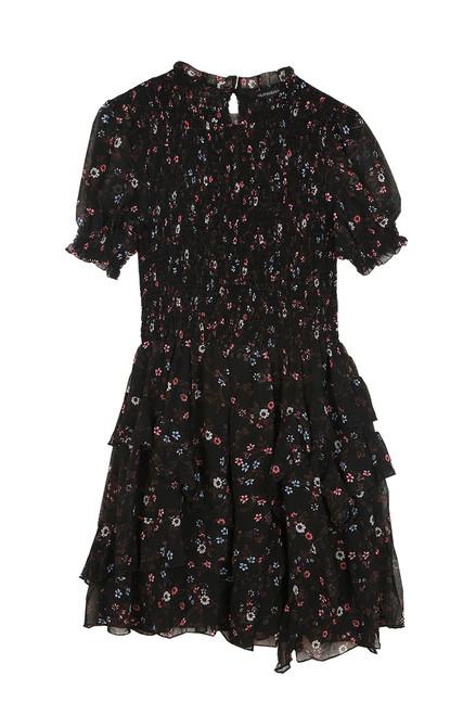 Floral Ruffle Mini Dress