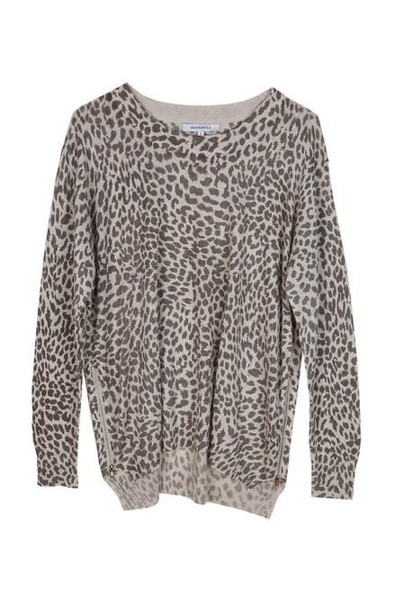 Leopard L/S Crewneck Sweater
