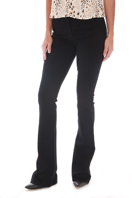 Barbara High Rise Boot Cut Jeans
