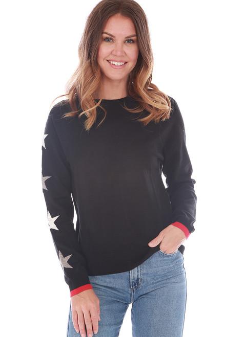 Heart & Stars Crewneck Sweater