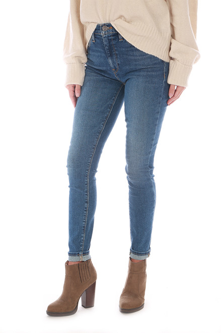 Barbara High Waist Skinny Ankle Jeans
