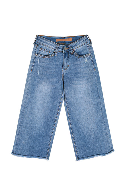 The Emma Wide Leg Crop Jeans (Big Kid)