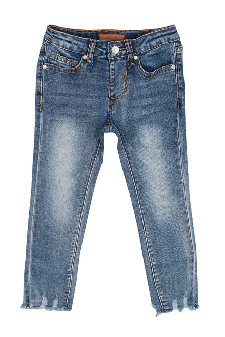 Rocker Ankle Jeans (Little Kid)