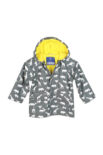 Safari Color-Changing Raincoat (Little Kid)