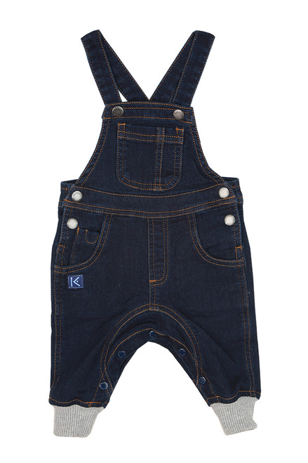 Denim Knit Overalls (Infant)