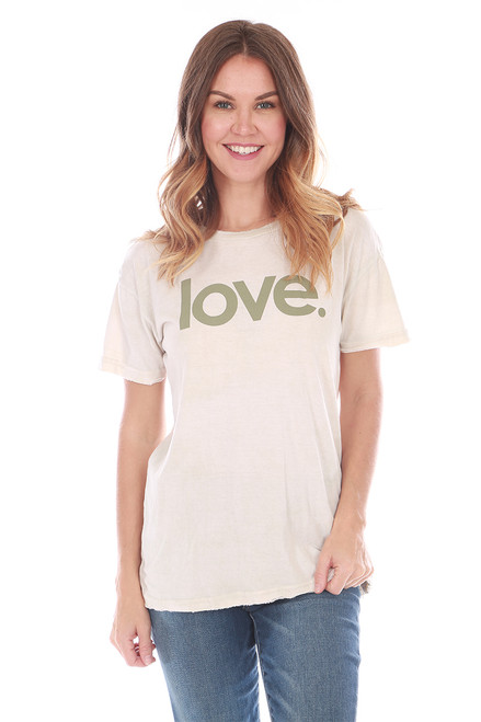 Love Unisex S/S Crew Tee (+ colors)