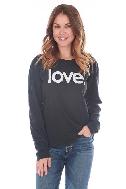 Love Unisex L/S Crew Tee
