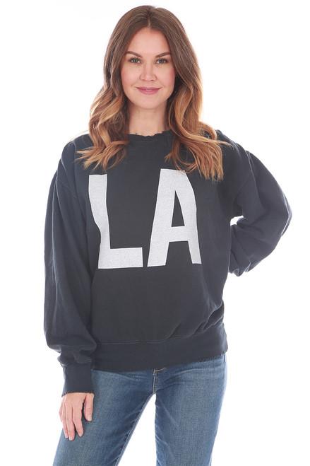 LA Fleece Crew Neck Sweatshirt (+ colors)