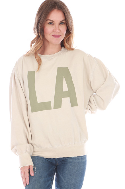LA Fleece Crew Neck Sweatshirt (+ colors)