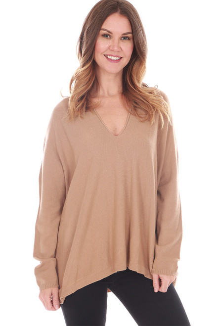 V-Neck Soft Sweater (+ colors)