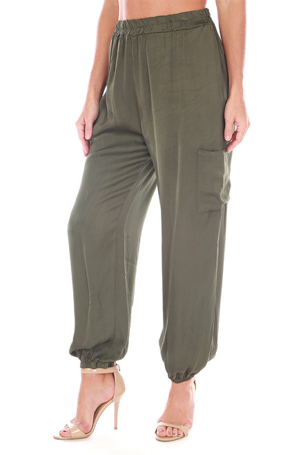 Cargo Silk Pants (+ colors)