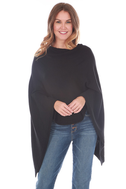 Soft Poncho Shawl (+ colors)