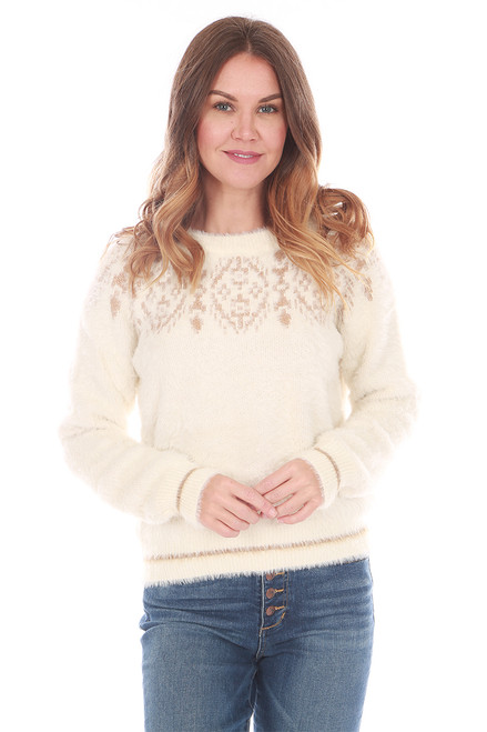 L/S Fuzzy Sweater