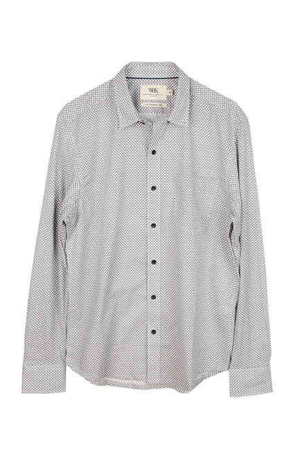 Men's Diamond Reworked L/S Button Up Top