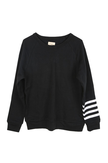 Men's Fleece Raglan L/S Pullover (+ colors)