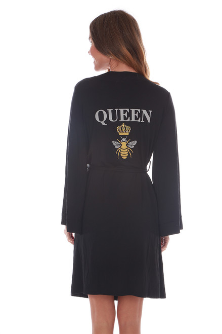Queen Bee Lightweight Robe