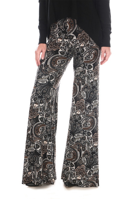 Wide Leg Printed Pants