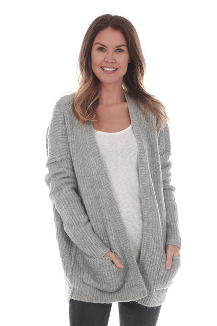Open Knit Cardigan W/ Pockets (+ colors)