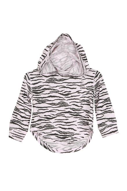 L/S Zebra T-Shirt Pullover (Toddler/Little/Big Kid)