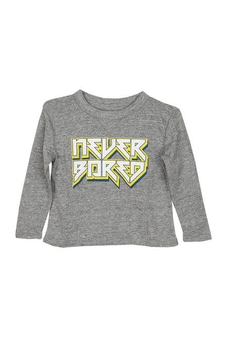 Never Bored L/S Tee (Toddler/Little Kid)