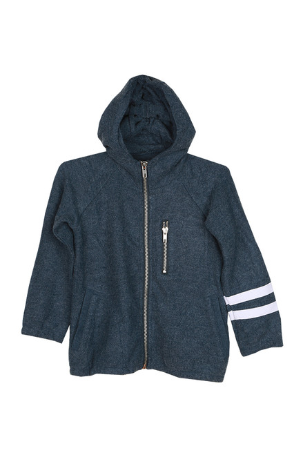 Love Knit Zip Up Hoodie (Toddler/Little/Big Kid) (+ colors)