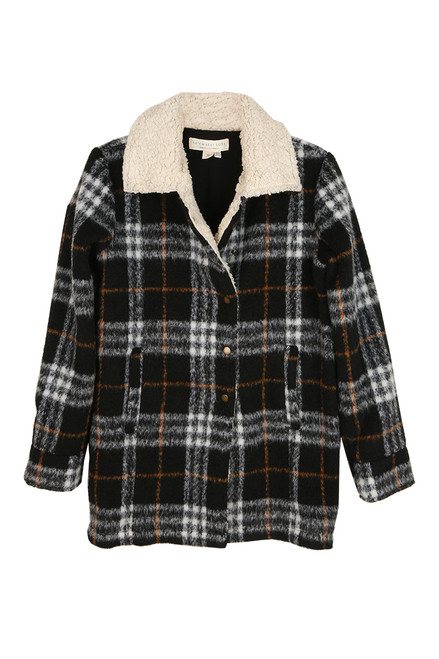 Provence Sherpa Collar Coat