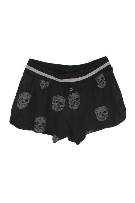 Skull Thermal Lounge Shorts