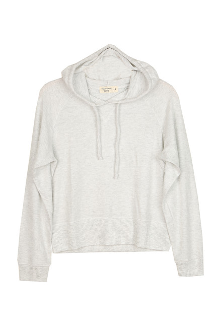 Boxy Cropped Hoodie (+ colors)
