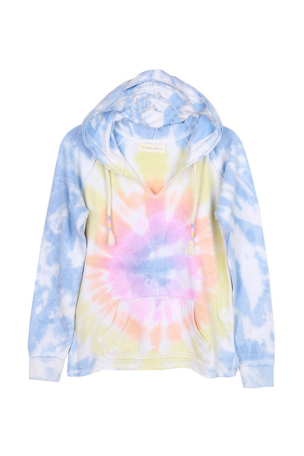 Tie Dye Hoodie Sweatshirt (+ colors)